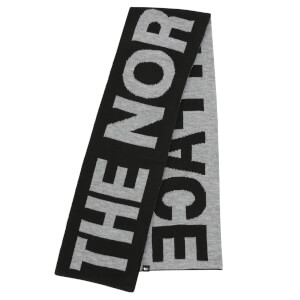 The North Face Men's Logo Scarf - TNF Black/TNF Medium Grey