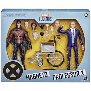 Hasbro Marvel Legends X-Men Magneto and Professor X Action Figure Set