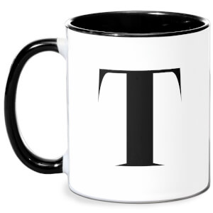 T Mug - White/Black