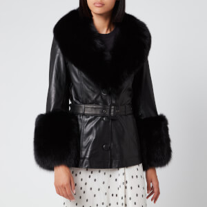 Saks Potts Women's Shorty Coat - Black