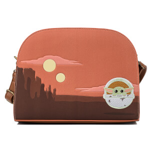 Loungefly Star Wars Mandalorian Child Craddle Scene Crossbody Bag