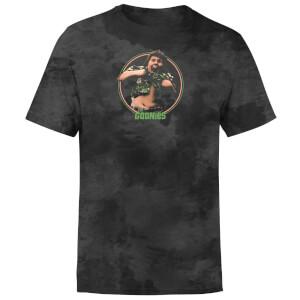 T-shirt The Goonies Truffle Shuffle - Noir Tie Dye - Unisexe