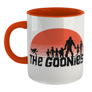 The Goonies Never Say Die Mug - White/Orange