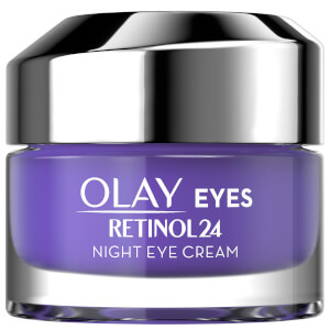 Olay Retinol 24 Fragrance Free Night Eye Cream for Smooth and Glowing Skin 15ml