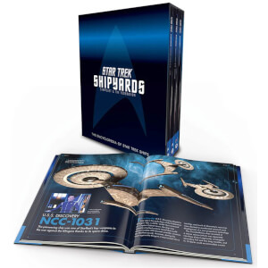 Penguin Star Trek Shipyards: Starfleet and the Federation Hardcover Box Set
