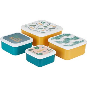 Mimo Winter Palm Lunch Box Set - Stackable