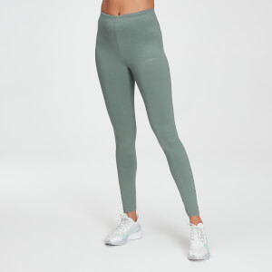 MP Women's Tonal Graphic Leggings - Washed Green