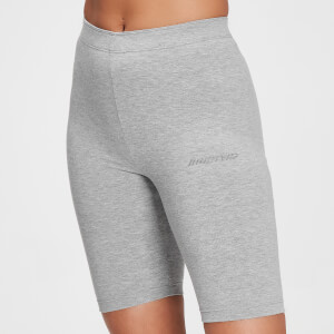 MP Damen Tonal Graphic Radlerhose – Hellgrau