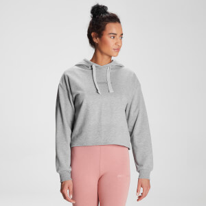 MP Women's Tonal Graphic Hoodie - Grey Marl