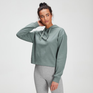 MP Tonal Graphic Kapuzenpullover für Damen – Washed Green