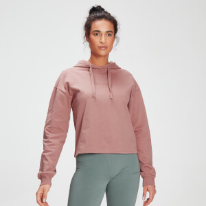 MP Tonal Graphic Kapuzenpullover für Damen – Washed Pink