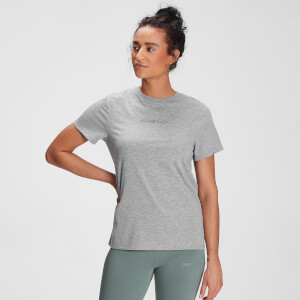MP Women's Tonal Graphic T-Shirt - Grey Marl