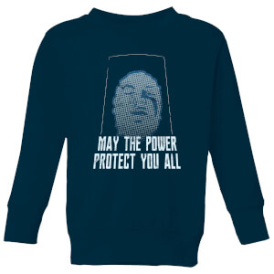 Power Rangers May The Power Protect You Kids' Sweatshirt - Navy