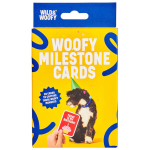 Dog Milestone Cards