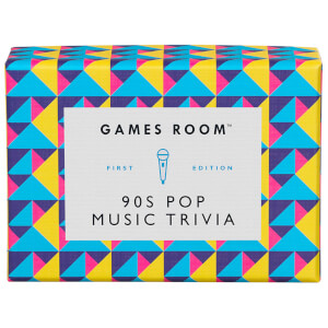 The Games Room 90's Pop Music Trivia Cards