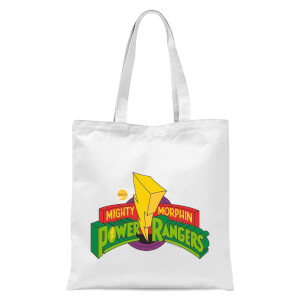 Tote Bag Power Rangers Power Rangers - Blanc