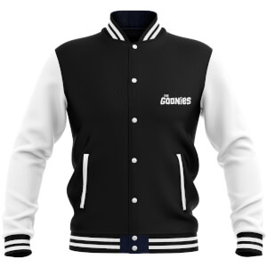 The Goonies Never-Say-Die Women's Women's Varsity Jacket - Black