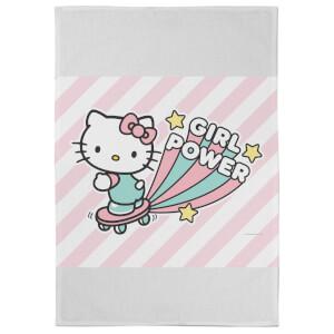 Hello Kitty Girl Power Tea Towel