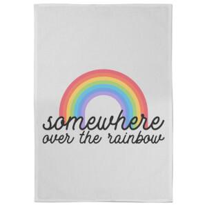 Somewhere Over The Rainbow Tea Towel