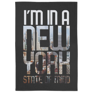 I'm In A New York State Of Mind Tea Towel