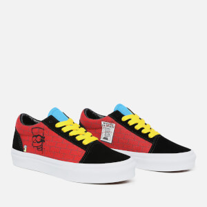 Vans X The Simpsons Kids' Old Skool Trainers - El Barto