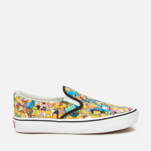 Vans X The Simpsons Comfycush Slip-On Trainers - Springfield