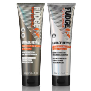 Fudge Professional Damage Rewind Shampoo and Conditioner Duo 2 x 250ml (Worth $47.90)