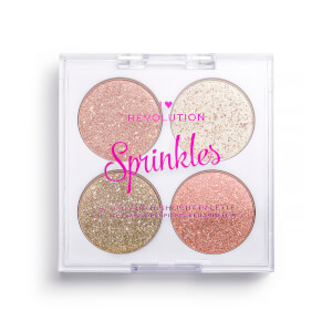 I Heart Revolution Blush & Sprinkles Palette - Confetti Cookie