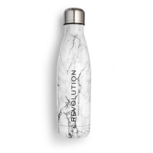 Makeup Revolution Water Bottle - Marble Finish
