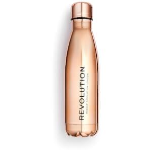 Makeup Revolution Water Bottle - Rose Gold Finish