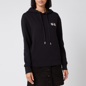 Maison Kitsuné Women's Double Fox Head Patch Hoodie - Black