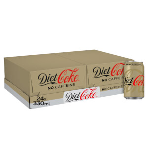 Diet Coke Caffeine Free 24 x 330ml