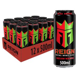 Reign Melon Mania 12 x 500ml