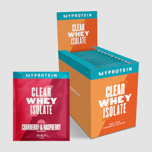 Pack d'échantillons de Clear Whey Isolate