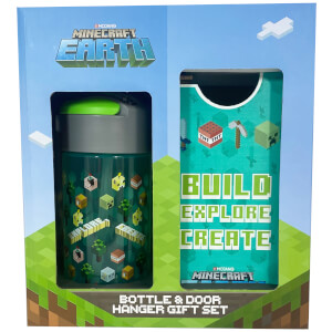 Minecraft Bottle and Door Hanger Set