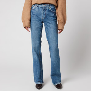Free People Women's Laurel Canyon Flare Jeans - Wilson Blue