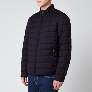Canali Men's Quilted Storm System Blouson Jacket - Navy