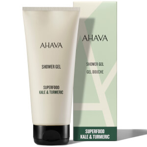 AHAVA Kale and Turmeric Shower Gel 200ml