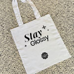 GLOSSYBOX Stay Glossy Tote Bag - White