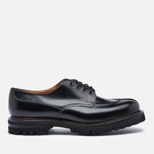 Church's Men's Edgerton Leather Apron Toe Derby Shoes - Black