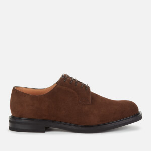 Church's Men's Shannon LW Suede Derby Shoes - Sigar