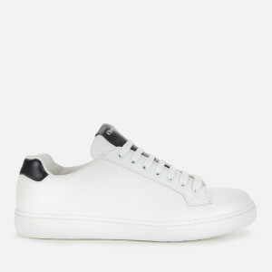 Church's Men's Boland Plus 2 Leather Low Top Trainers - White/Black