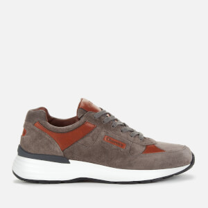 Church's Men's Ch873 Suede Running Style Trainers - Army Grey