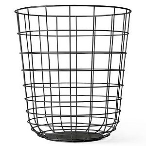 Menu Wire Bin - Black
