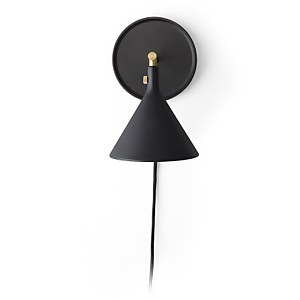 Menu Cast Sconce Wall Lamp - Black
