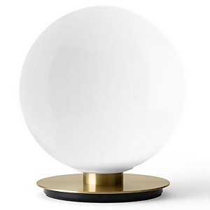 Menu Shiny Opal Table/Wall Lamp - Brushed Brass