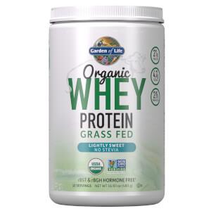 Organic Grasgefüttertes Whey Protein - Leicht Süß - 393.5g