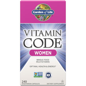 Garden of Life Vitamin Code Women - 240 Capsules