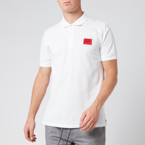 HUGO Men's Dereso Polo Shirt - White