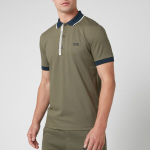 BOSS Men's Paule 4 Polo Shirt - Dark Green